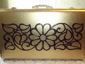 Переделка - старый чемодан в новый. | Ярмарка Мастеров - ручная работа, handmade