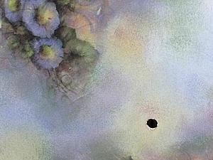 «Дымчатая Вуаль» художественный декупаж, нежные тени акрилом | Ярмарка Мастеров - ручная работа, handmade