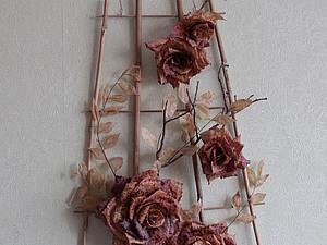 """Роза сорта """"Золотая осень"""". Ярмарка Мастеров - ручная работа, handmade."""