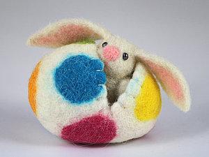 Из биографии пасхального зайца. Ярмарка Мастеров - ручная работа, handmade.