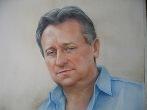 Школа портрета. Рисуем мужской портрет в технике «сухая кисть». Ярмарка Мастеров - ручная работа, handmade.