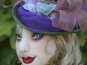 Прошивка лица текстильной куклы.. Ярмарка Мастеров - ручная работа, handmade.