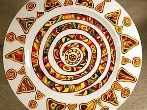 Роспись фарфора профессиональными надглазурными красками с последующим обжигом в муфельной печи - | Ярмарка Мастеров - ручная работа, handmade