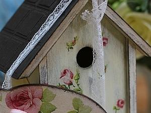Чайный домик с шоколадной крышей. | Ярмарка Мастеров - ручная работа, handmade