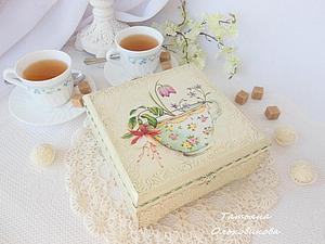 Шкатулк для чая