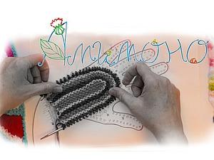 Видео мастер-класс: изобретаем перчатки. Часть 2. Ладошка. Ярмарка Мастеров - ручная работа, handmade.