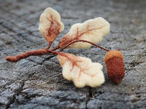 Делаем брошь «Дары осени» | Ярмарка Мастеров - ручная работа, handmade