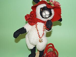 О том, как родилась овечка Кэрол | Ярмарка Мастеров - ручная работа, handmade