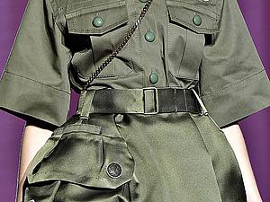 Военная тематика: снова на острие моды | Ярмарка Мастеров - ручная работа, handmade
