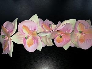 Мастер-класс по фоамирану орхидея. | Ярмарка Мастеров - ручная работа, handmade