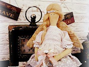 АУКЦИОН на интерьерную куклу Дивный ангел-