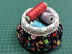 Шьём приятную текстильную вазочку. Ярмарка Мастеров - ручная работа, handmade.