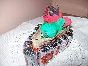 Маки из конфет. Ярмарка Мастеров - ручная работа, handmade.