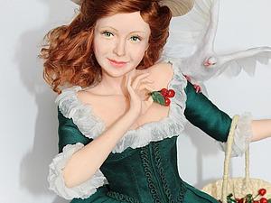 Как приклеить волосы кукле | Ярмарка Мастеров - ручная работа, handmade