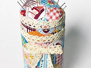 Делаем игольницу из баночки | Ярмарка Мастеров - ручная работа, handmade