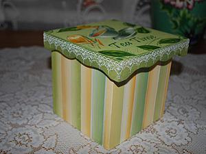 Винтажная коробочка | Ярмарка Мастеров - ручная работа, handmade