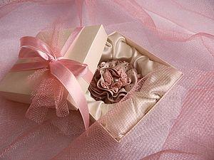 Мастерим красивую подарочную коробочку. Ярмарка Мастеров - ручная работа, handmade.