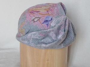 Валяние объёмного берета. | Ярмарка Мастеров - ручная работа, handmade