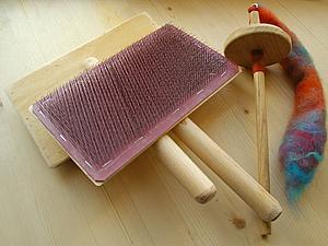 Прядение на веретене + веретено в ПОДАРОК!!! | Ярмарка Мастеров - ручная работа, handmade
