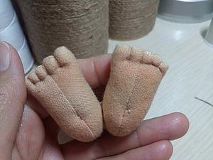 Рождение текстильной куклы. Ярмарка Мастеров - ручная работа, handmade.