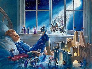 Сказочные картины Линн Лупетти!!) | Ярмарка Мастеров - ручная работа, handmade