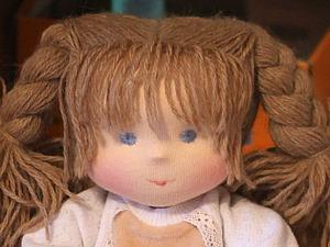 Как сделать красивую чёлочку для куколки: маленький, но очень полезный мастер-класс. Ярмарка Мастеров - ручная работа, handmade.