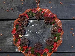 Мастер-класс по созданию новогоднего венка. Ярмарка Мастеров - ручная работа, handmade.