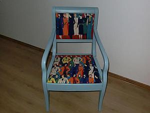 """Реставрация стула из кинотеатра """"Колизей"""". Ярмарка Мастеров - ручная работа, handmade."""