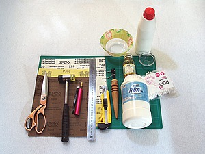 Обработка срезов (урезов) кожи химического дубления. Ярмарка Мастеров - ручная работа, handmade.