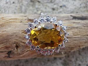 Аукцион! Перстень с цитрином! Закончен! | Ярмарка Мастеров - ручная работа, handmade