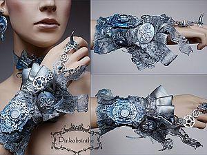 Женственность крупных браслетов | Ярмарка Мастеров - ручная работа, handmade