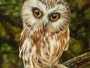 Шерстяная акварель Екатерины Буянковой - создаем картину