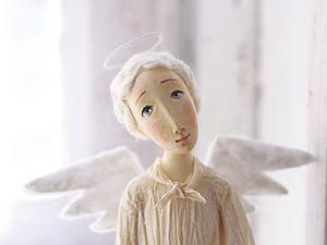 Куколка-ангел из самозастывающего пластика (4 занятия)   Ярмарка Мастеров - ручная работа, handmade