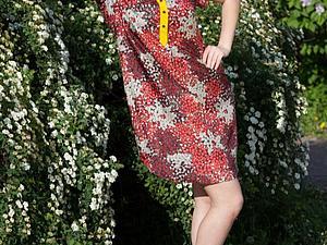 Платье рубашка-стильно и комфортно!   Ярмарка Мастеров - ручная работа, handmade