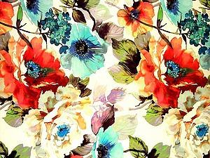 Цветочные принты на летних и вечерних платьях: просто, женственно, эффектно | Ярмарка Мастеров - ручная работа, handmade