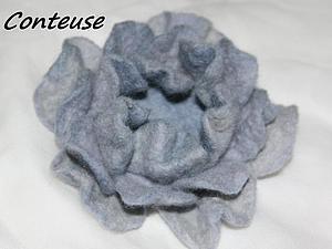 Валяем из шерсти: несколько способов формирования цветка. Ярмарка Мастеров - ручная работа, handmade.