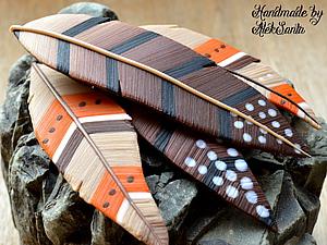 Мастер-класс: создаем перья из полимерной глины. Ярмарка Мастеров - ручная работа, handmade.