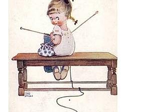 Он-лайн обучение ручному вязанию.   Ярмарка Мастеров - ручная работа, handmade