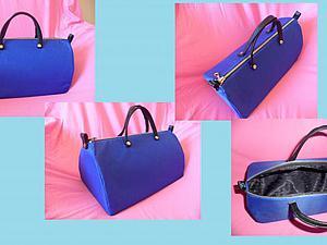 Шьем «maletin» — элегантную cумку-чемоданчик. Ярмарка Мастеров - ручная работа, handmade.