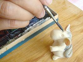 Лепим игрушку из соленого теста. Ярмарка Мастеров - ручная работа, handmade.