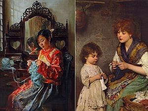 Чудо-петелька: истоки вязания | Ярмарка Мастеров - ручная работа, handmade