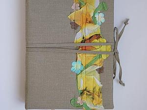 Блокнот с разделителями для записей и рисования. | Ярмарка Мастеров - ручная работа, handmade
