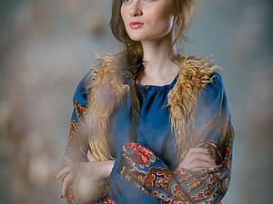 Фотоколлекция 1. Рубаха южнорусская женская - современный взгляд | Ярмарка Мастеров - ручная работа, handmade