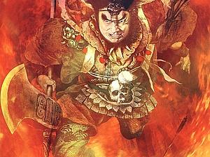 Образ мужчины-воина в картинах современных китайских художников   Ярмарка Мастеров - ручная работа, handmade