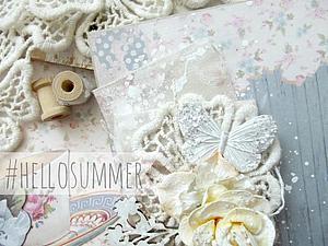 Делаем открыточку «Lovely summer». Ярмарка Мастеров - ручная работа, handmade.