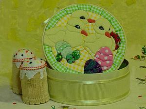 Мастер-класс: Пасхальная шкатулка в технике кинусайга (пэчворк без иглы). Ярмарка Мастеров - ручная работа, handmade.