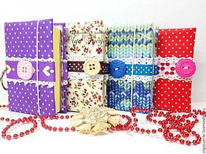 Акция!!! ПЕРВЫМ 5-ти  покупателям магазина  блокнот в подарок! | Ярмарка Мастеров - ручная работа, handmade