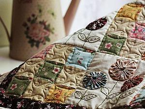 Создаем лоскутный плед «Дивный сад». Ярмарка Мастеров - ручная работа, handmade.