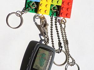Брелоки и Ключница из LEGO. Ярмарка Мастеров - ручная работа, handmade.