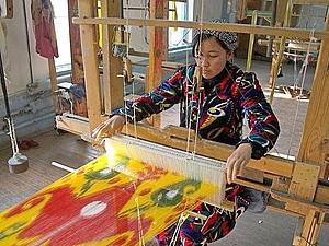 Маргиланская фабрика «Ёдгорлик»: в самом сердце Великого Шелкового пути. Ярмарка Мастеров - ручная работа, handmade.